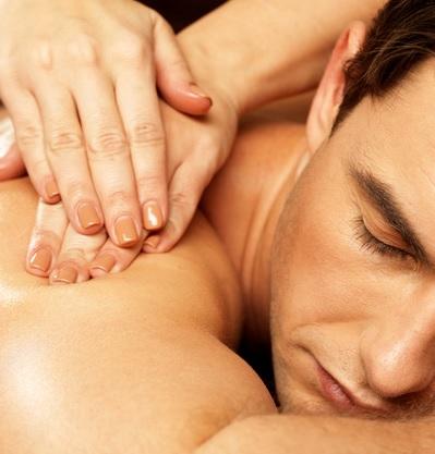 Rücken Nacken Schultermassage Bern